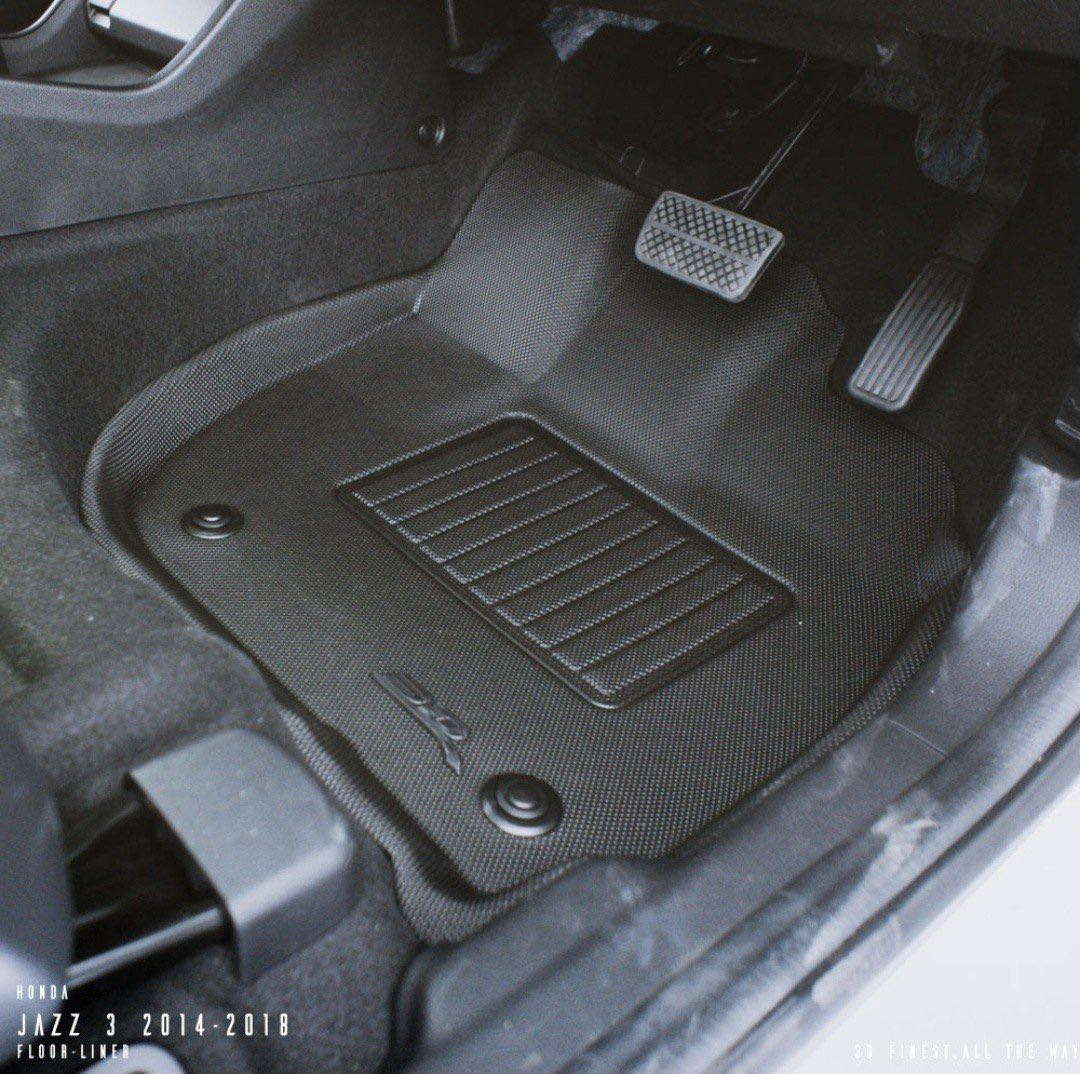 12356d5364b 3D Maxpider KAGU Car Mats - Honda Fit   Jazz