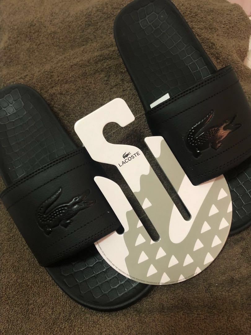 8b60e4e8c460e Price Drop!!Brand New!! Lacoste 118 Frasier Slides  Men s slippers ...