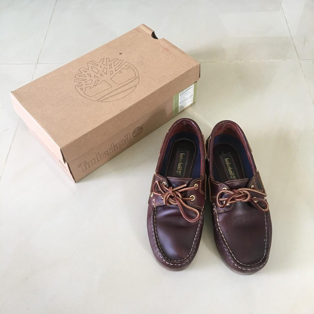 正品 timberland 經典 帆船鞋 女生 6.5號 #手滑買太多