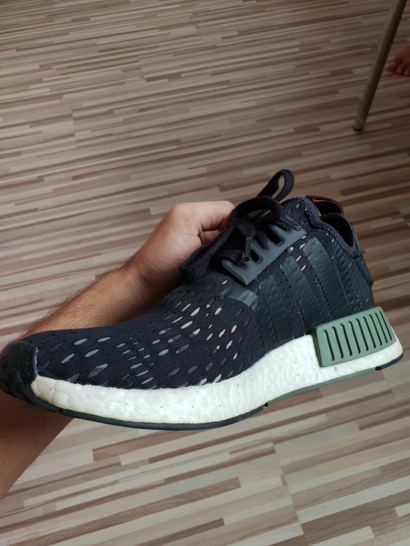 1237a5b04 Adidas × Footlocker NMD R1 Black Khaki Camo (BB1357)