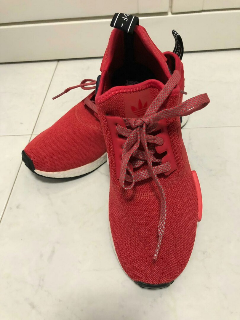 sports shoes 2f2a7 27b26 Adidas NMD red sneakers (brand new)