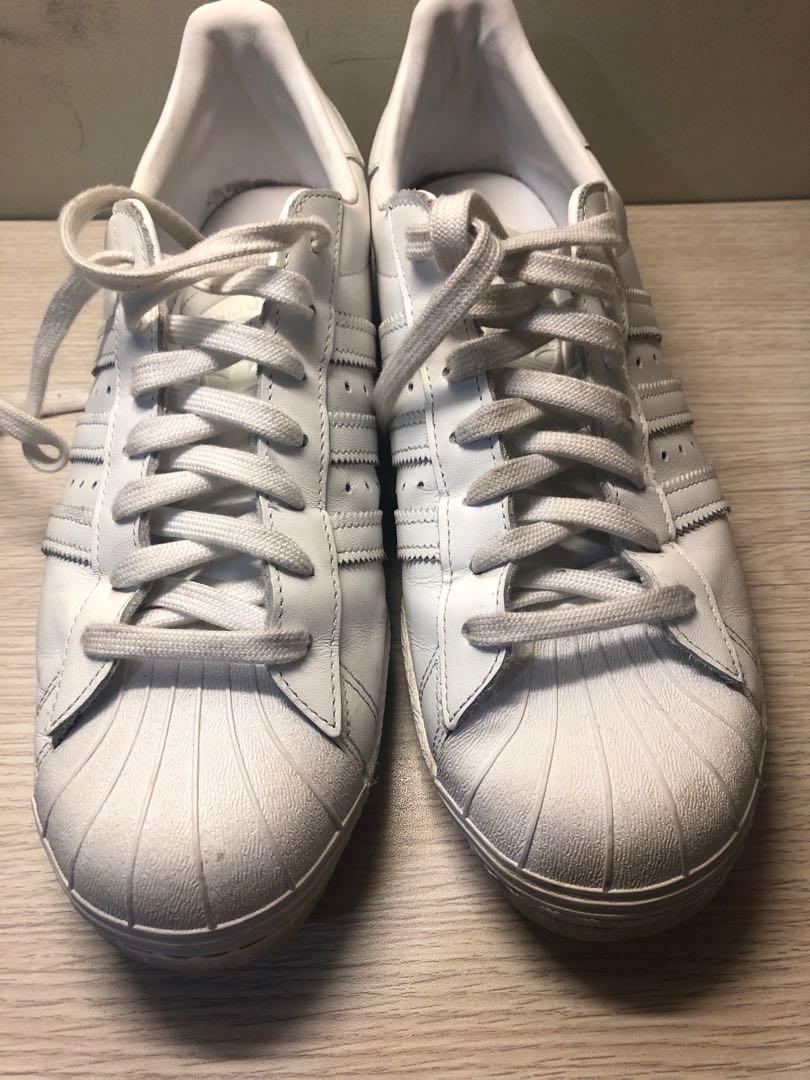 bcc9e954a96f5 Adidas superstar 80s all white orig