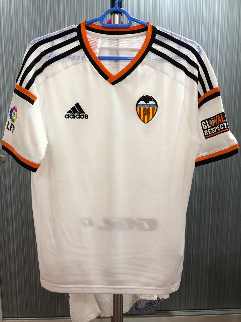 new style 5c22a 8c2d1 Adidas Valencia Home Jersey (Youth Size), Sports, Sports ...