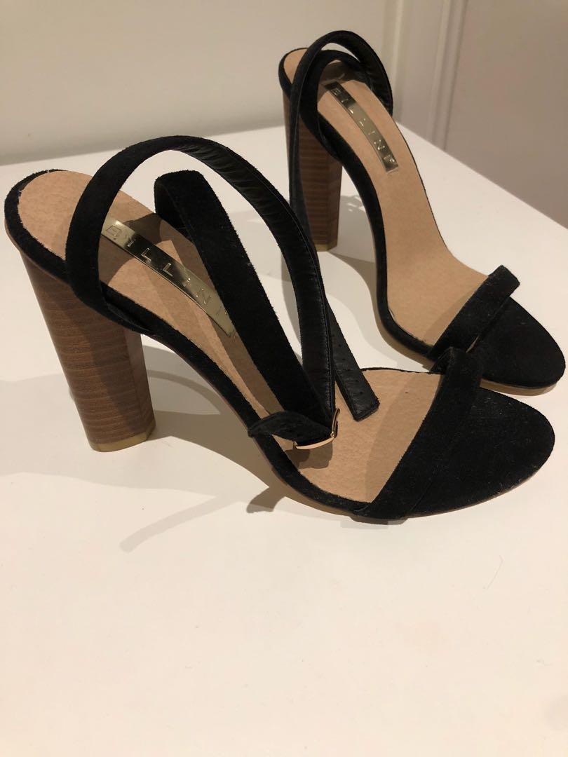 Billini black heels