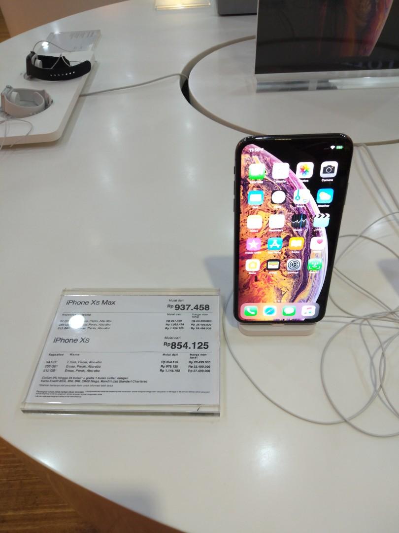 Bisa cicilan iPhone Xs max Cashback 1jt tanpa kartu kredit 1600f40f9f