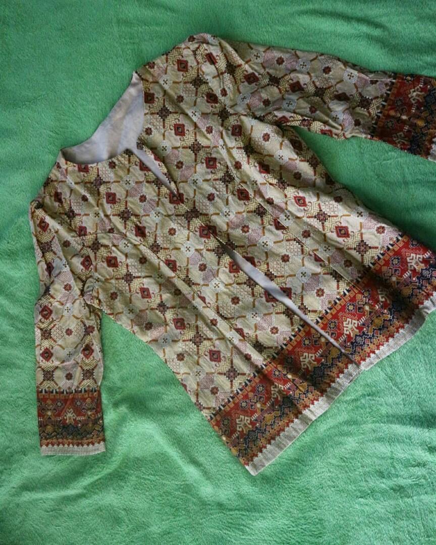 Blazer batik jahit