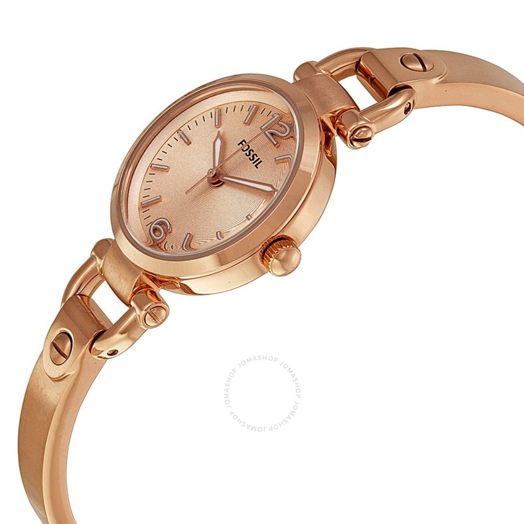 95cd31d7e 💥CNY SPECIAL Deals 💥Fossil Ladies Georgia Mini Rose-Tone Stainless ...