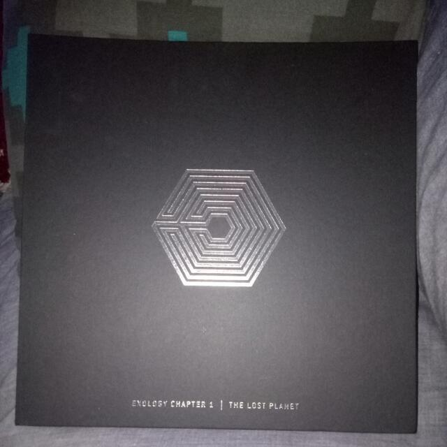 EXO EXOLOGY CHAPTER 1 THE LOST PLANET SPECIAL EDITION POSTCARDS AND POSTER INCLUDED