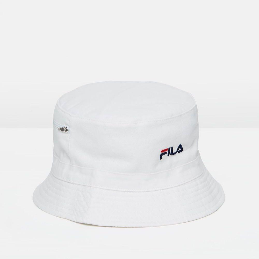 c91ae0796 Fila Bucket Hat, Men's Fashion, Accessories, Caps & Hats on Carousell