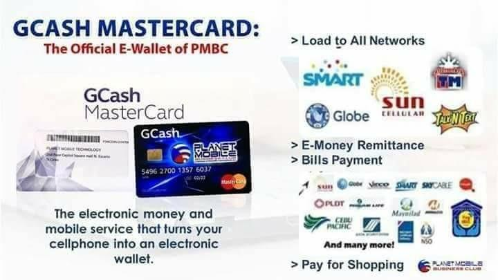 G-CASH Mastercard with Globe Sim (Pre Order), Electronics