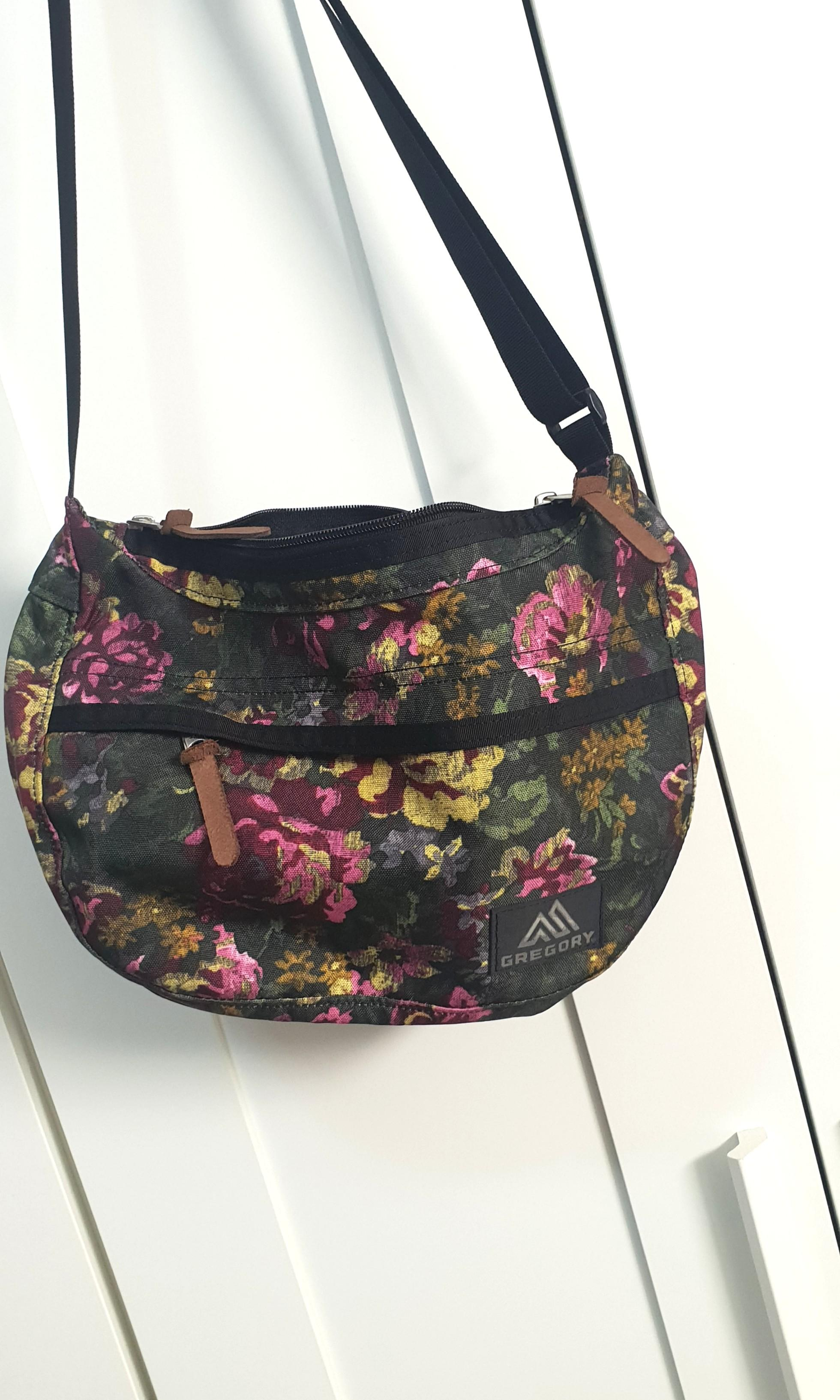 3f17b8206b43 Gregory Small Garden Tapestry Floral Sling Bag, Men's Fashion, Bags ...