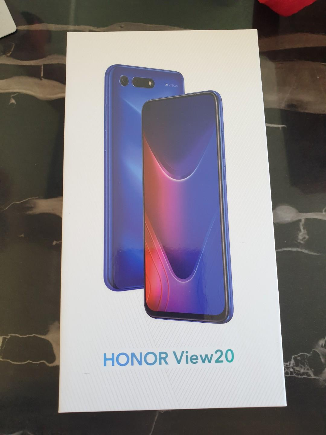 Huawei Honor View 20 - 128GB - Sapphire Blue, Mobile Phones
