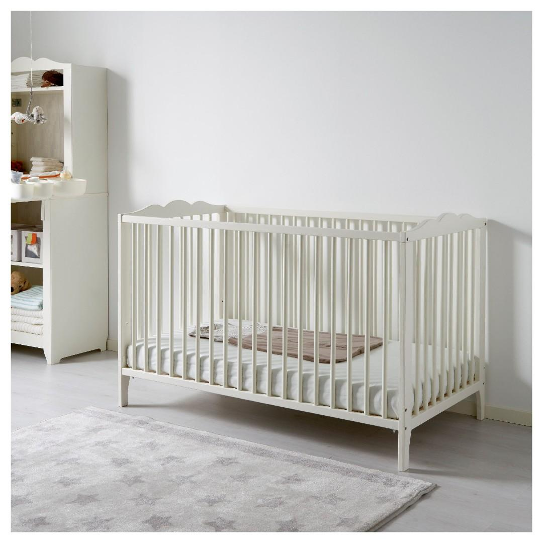 Ikea Hensvik Baby Crib And Dresser Babies Kids Cots Cribs On