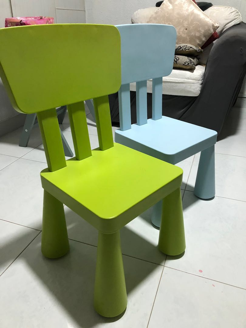 Kids chair furniture tables chairs on carousell