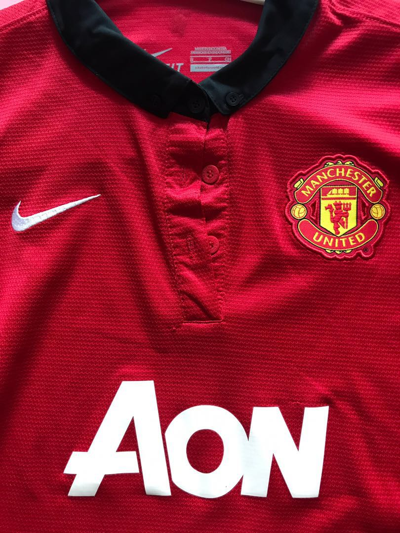 official photos e31e8 41d61 Manchester United Nike authentic Jersey size s