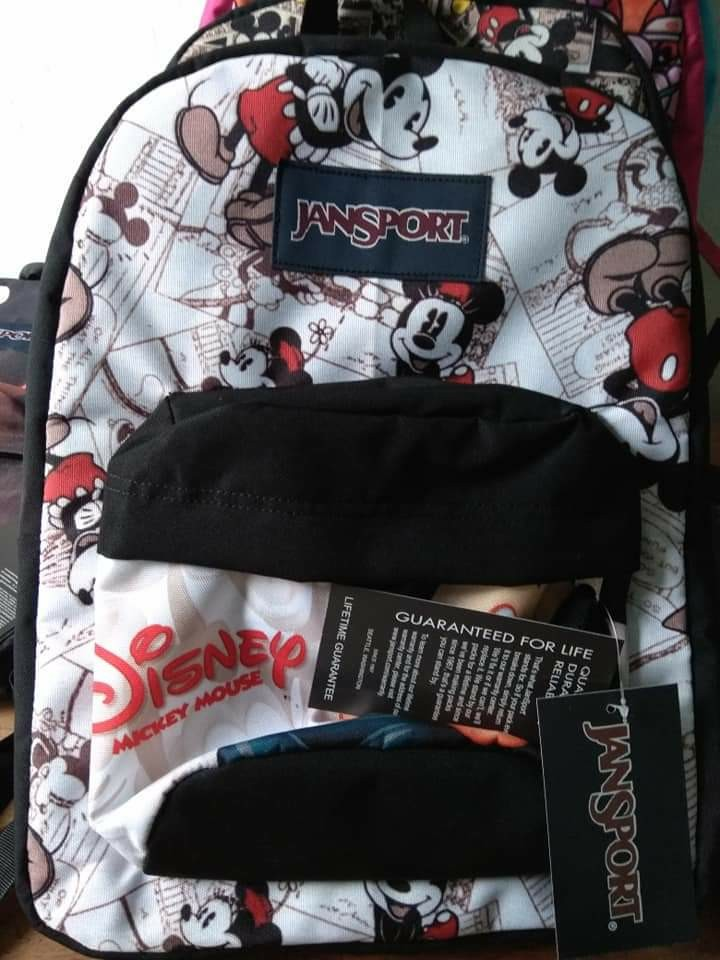 4c909fdcf49 mickey mouse jansport original large backpack