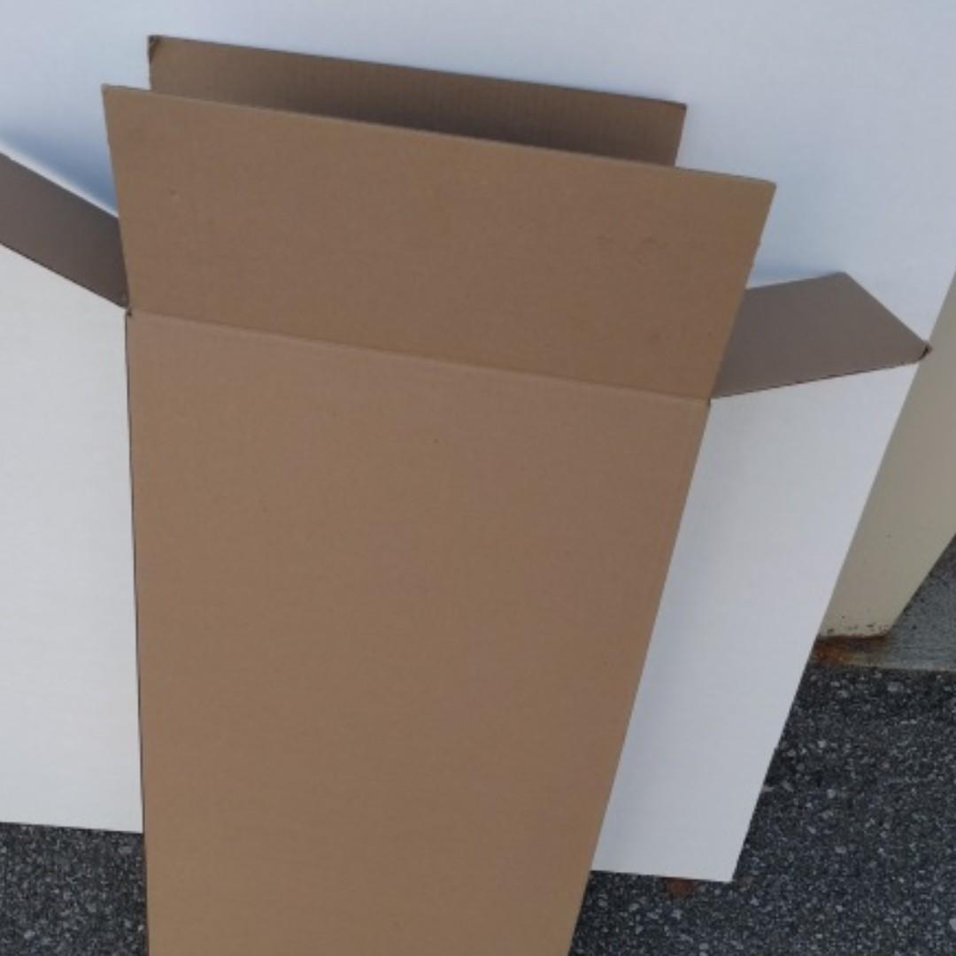 """Moving Boxes 17x18x33"""", 12x18x6"""", 28x12x6  Brand new"""