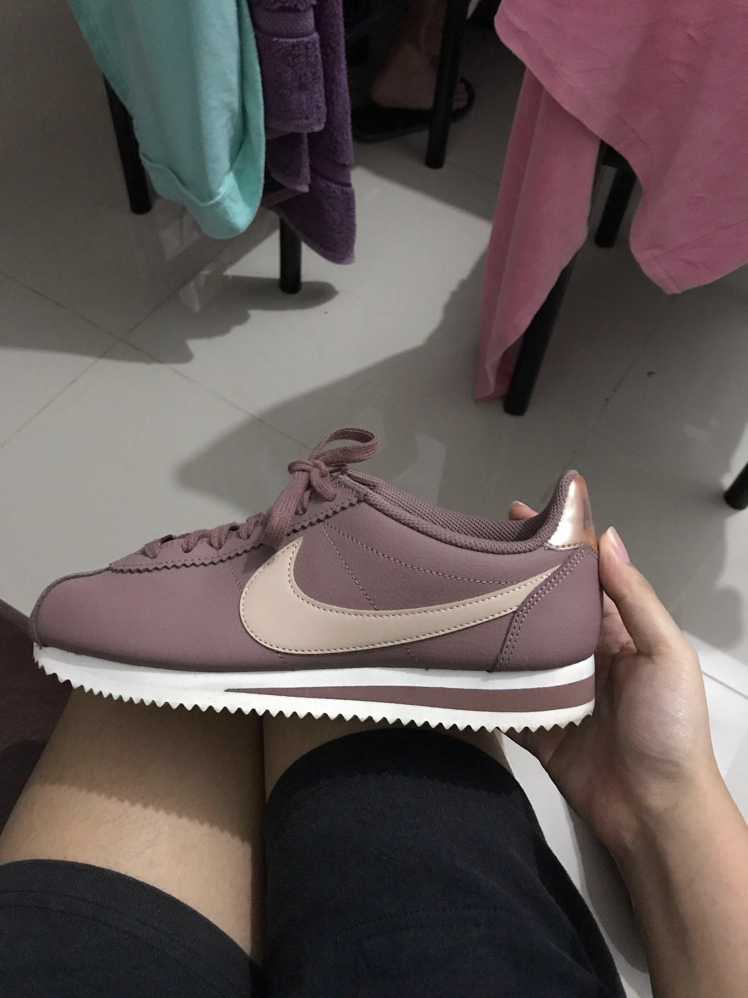 "reputable site 35d42 a93f8 Nike Cortez ""Smokey Muave"" Rose Gold Pink Plum Authentic on ..."