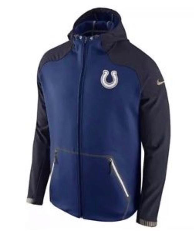 huge selection of f6e54 6689d Nike NFL Indianapolis Colts Therma-Fit Full Zip Hoody Jacket