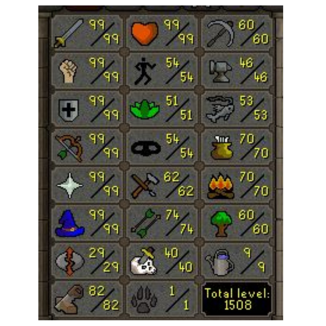 OSRS maxed combat quested account, Toys & Games, Video