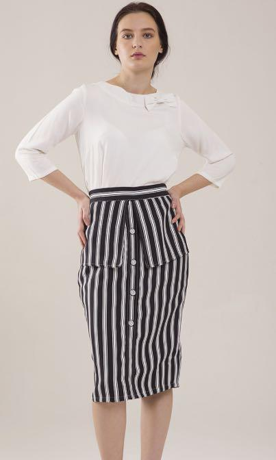 Pencil Skirt zebra
