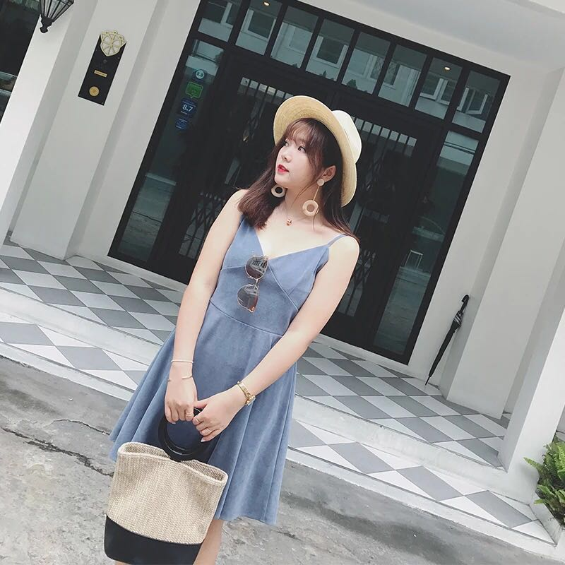 Plus Size Chambray Dress, Women\'s Fashion, Clothes, Dresses ...