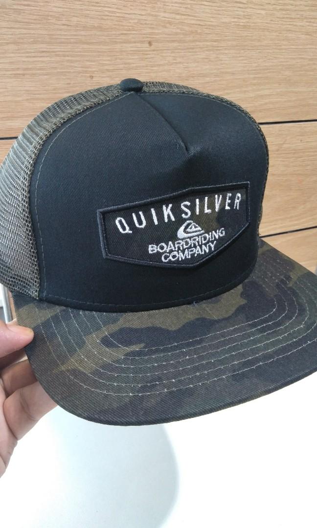 43be8fa6d7 Quicksilver trucker cap