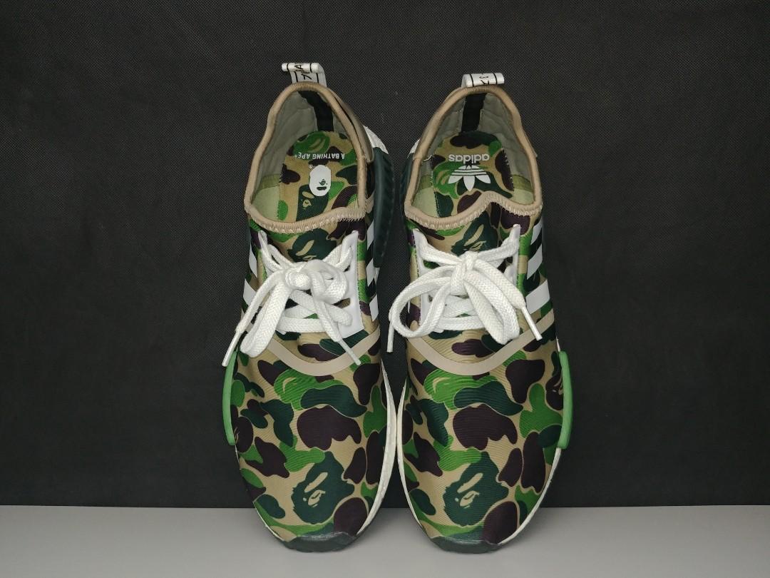 eb18bd3c 🔥[Ready Stock] Adidas NMD X Bape [PK VERSION 1:1], Men's Fashion ...