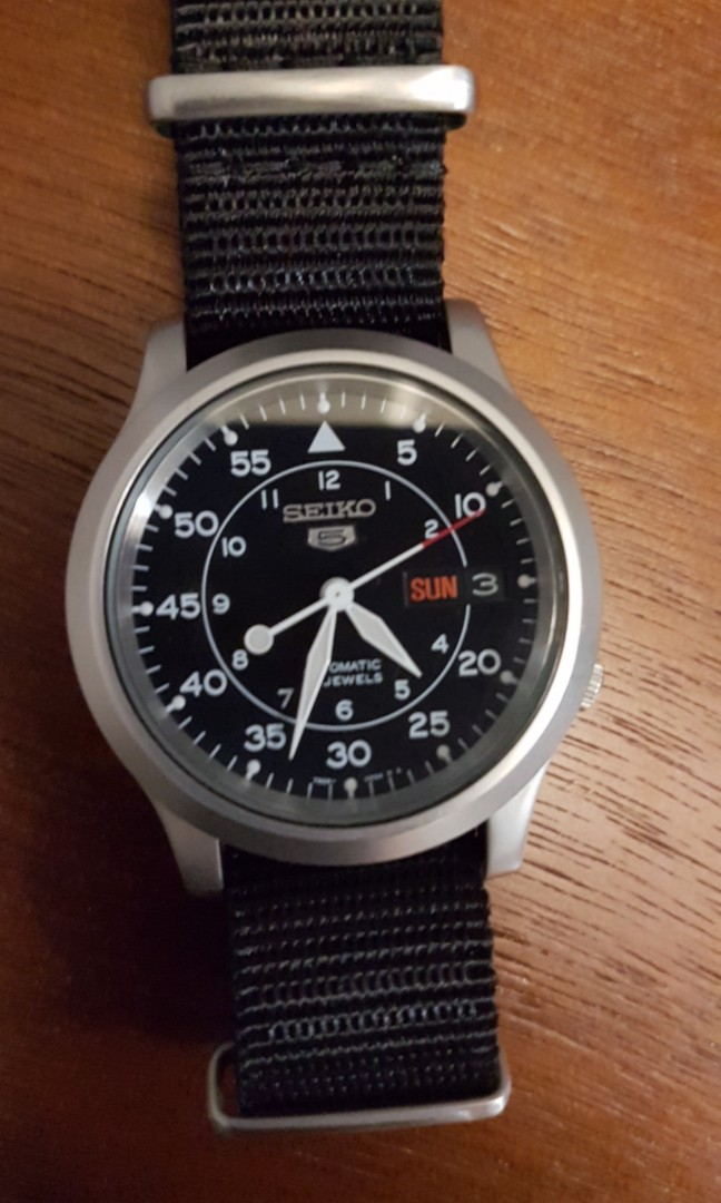 Seiko Field Watch Snk809 Men S Fashion Watches On Carousell