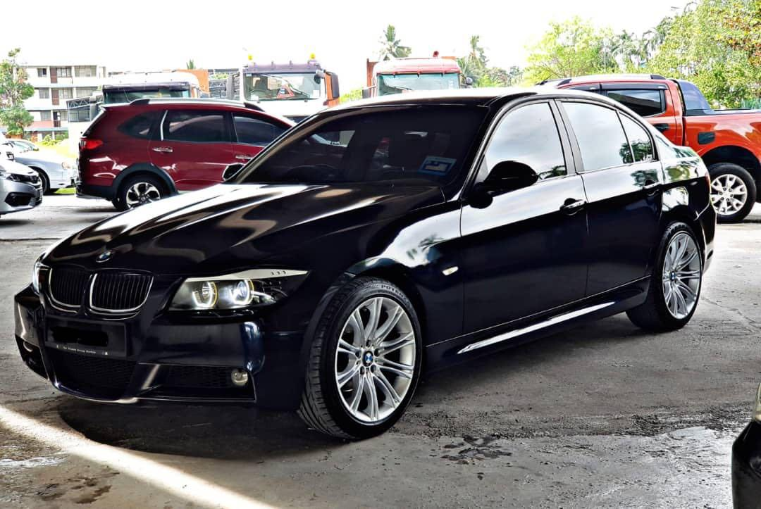 SEWA BELI  BMW E90 320i YEAR 2006 MONTHLY RM 1460 BALANCE 3 YEARS ROADTAX APRIL 2019 LEATHER SEAT PUSH START BUTTON TIPTOP CONDITION  DP KLIK wasap.my/60133524312/e90