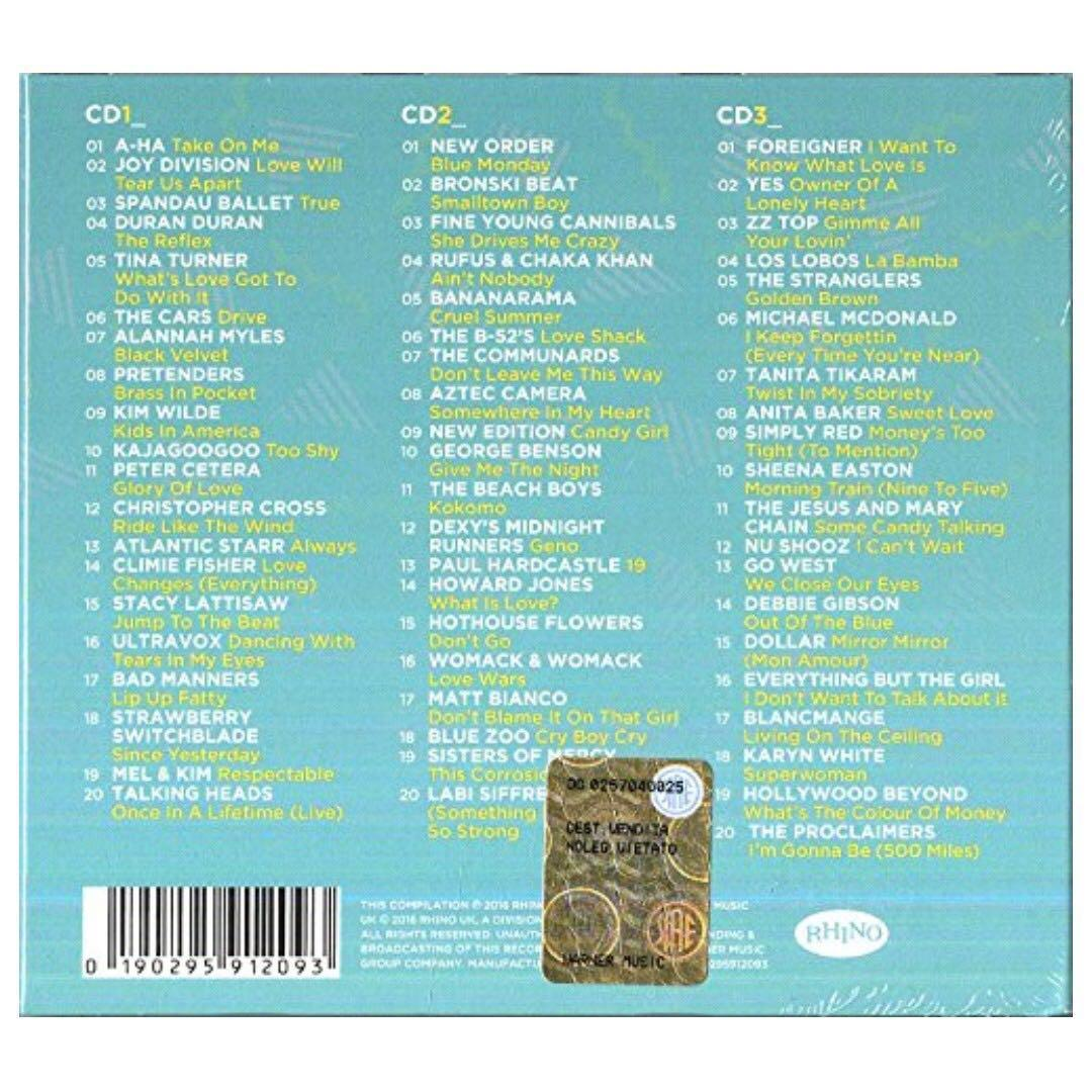 The Collection 80s: The Ultimate 80s Anthems - Audio CD