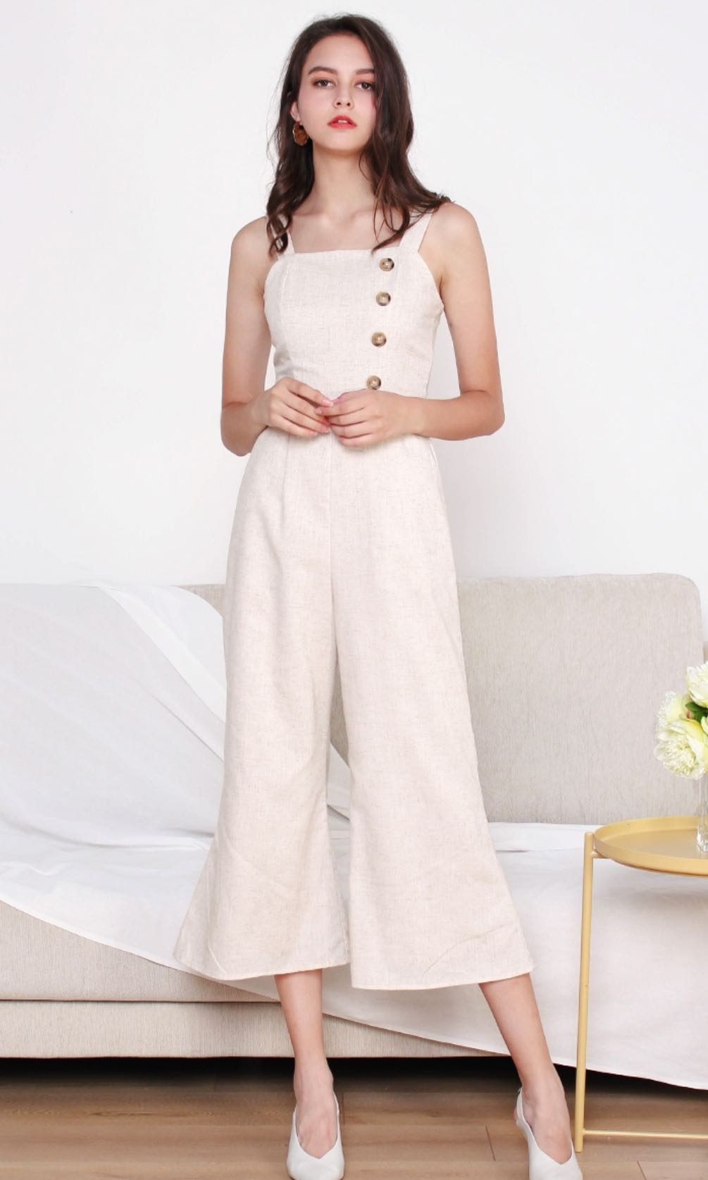 ec5dff486a0 The Willow Label Jumpsuit in Sand