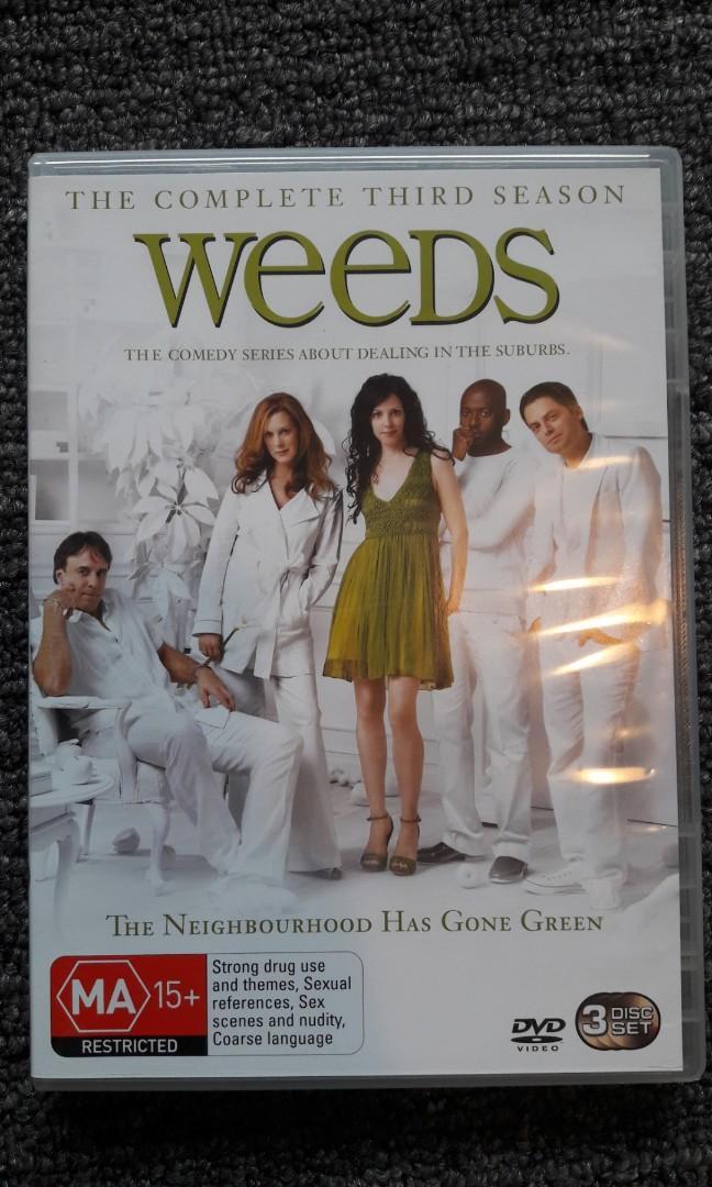 Weeds Season Three DVD