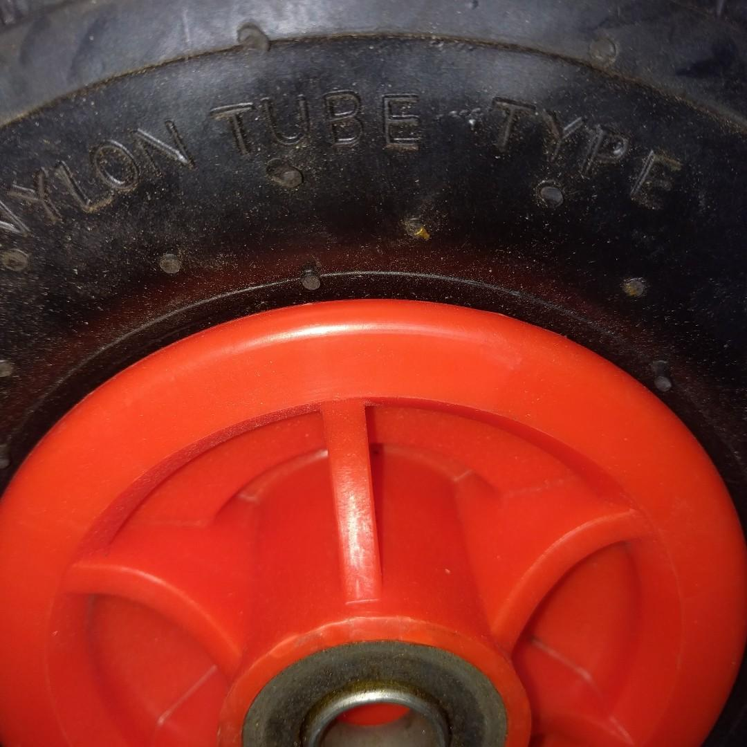 "Wheels for Dollies, Handcarts, 10"" with tyre and tube"