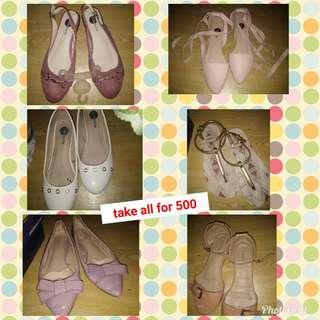 Women Shoes bundle size 7 or 8