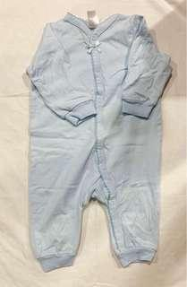 H&M Blue sleepsuit for baby girl (1-2mos)