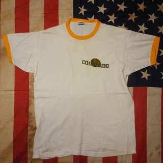 Vintage 60s CHAMPION Colorado T-Shirt USA not hanes red wing converse jack purcell lee levis