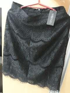 SM Woman office skirt