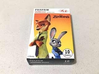 Instax mini film (Zootopia)