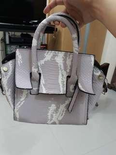 Violet mini bag