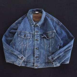 🚚 🇨🇦80s加拿大製Levis復古洗色牛仔外套 單寧夾克 男女皆可Vintage 歐美帶回古著