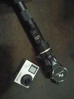 Gopro hero 4,condition cemerlang