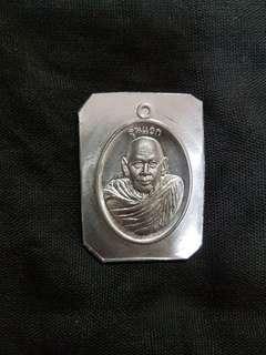 🚚 Thai amulet lp pong wat ban mai roon Raek 2561