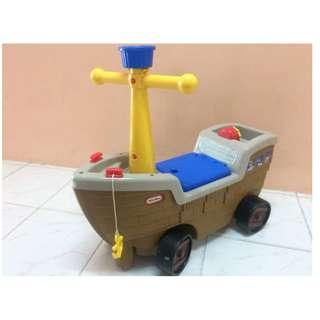 LITTLE TIKES RIDE ON BOAT