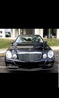 Mercedes Benz E class 50 per day