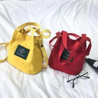 Bucket mini sling bag