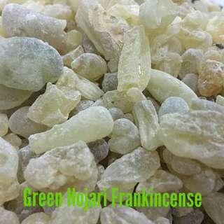 Luban Frankincense Green Hojari Bukhoor Incense Bakhoor Hoojri Oman Myrrh Oud