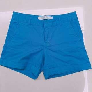 🚚 Giordano 藍色短褲26腰
