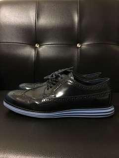 🚚 Cole Haan 雕花 牛津鞋 德比鞋 深藍 US11 專櫃正品
