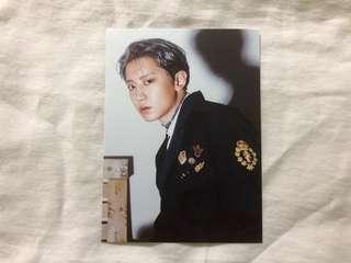 EXO CHANYEOL Don't Mess Up My Tempo DMUMT Official Postcard
